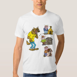 ¿Quién teme el lobo grande del matón? Camiseta Playera