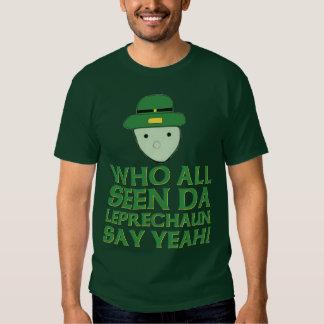 Quién todo el Leprechaun visto de DA dice sí Meme Remera