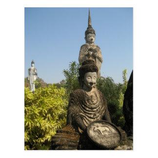 ¿Quién usted adora? Nong Khai, Isaan, Tailandia Tarjetas Postales