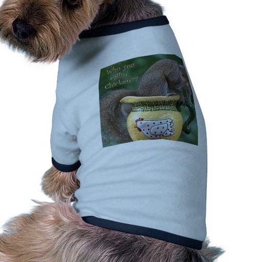 ¿Quién usted pollo del callin? Camiseta De Perrito