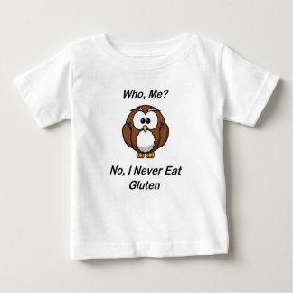 ¿Quién, yo?  No, yo nunca como el gluten Remera