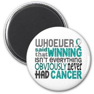 Quienquiera dijo al cáncer de cuello del útero imán redondo 5 cm