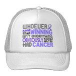 Quienquiera dijo al cáncer del esófago gorras de camionero