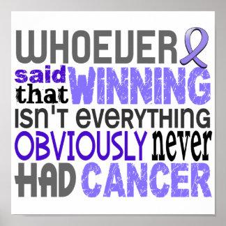 Quienquiera dijo al cáncer del esófago impresiones