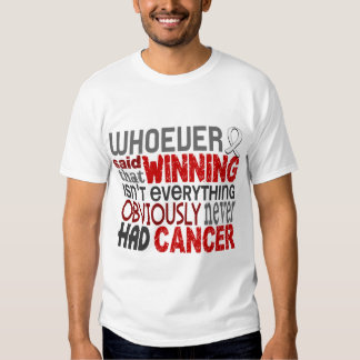 Quienquiera dijo el cáncer de pulmón camisas