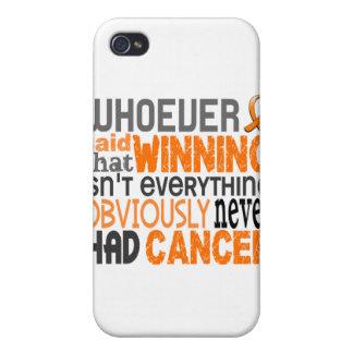 Quienquiera dijo leucemia iPhone 4/4S funda