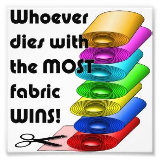 ¡Quienquiera muere con la mayoría de los triunfos Cojinete