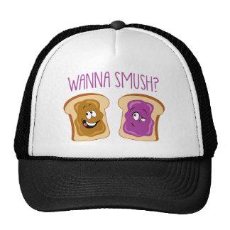 ¿Quiera a Smush? Gorros