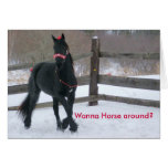Quiera al caballo… - Modificado para requisitos pa Tarjeton