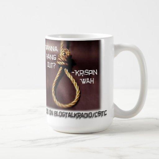 Quiera colgar hacia fuera la taza de Krispin Wah