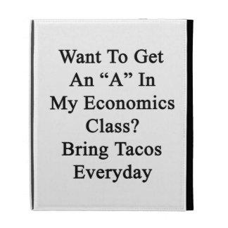 Quiera conseguir una A en mi clase de la economía