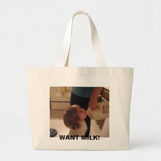 Quiera el totebag suave bolsa tela grande