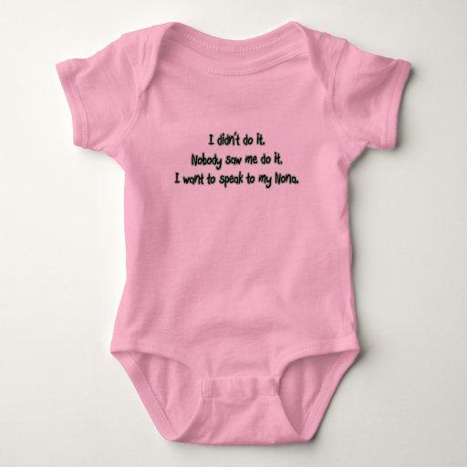 Quiera hablar a los Nona Body Para Bebé