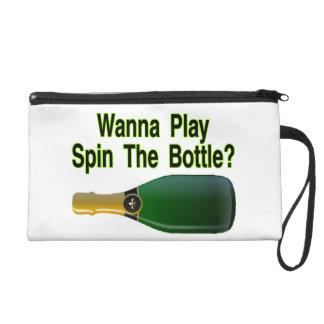 Quiera jugar vuelta la botella