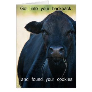 Quiera las galletas del s'more tarjeta de felicitación