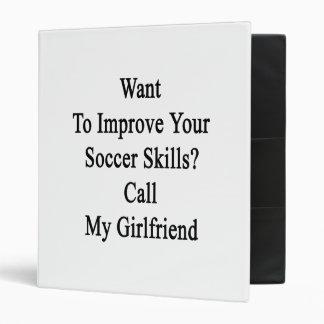 """Quiera mejorar sus habilidades del fútbol llaman carpeta 1"""""""