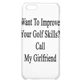 Quiera mejorar sus habilidades del golf llaman mi