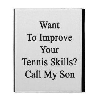 Quiera mejorar sus habilidades del tenis llaman a