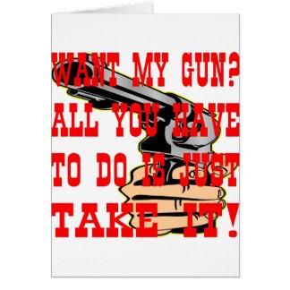 Quiera mi arma todo lo que usted tiene que hacer d tarjeta