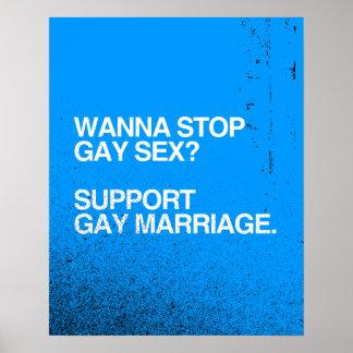 QUIERA PARAR MATRIMONIO HOMOSEXUAL IMPRESIONES