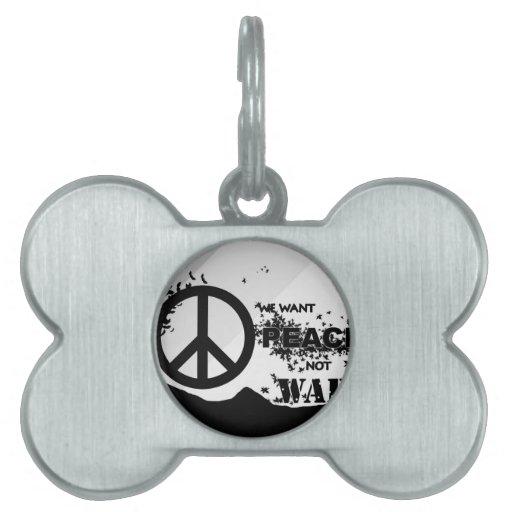 Quiera Peace.jpg Placas De Mascota