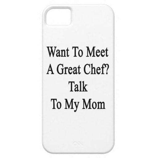 Quiera resolver una gran charla del cocinero a mi iPhone 5 fundas