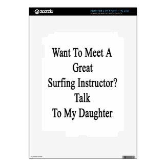 Quiera resolver una gran charla del instructor que pegatinas skins para iPad 3