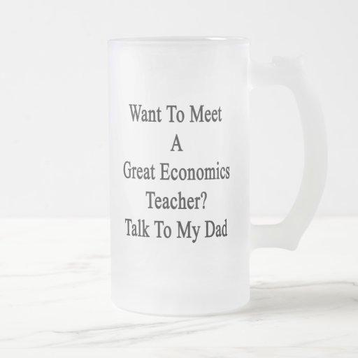 Quiera resolver una gran charla del profesor de la taza