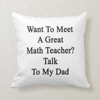 Quiera resolver una gran charla del profesor de ma almohadas