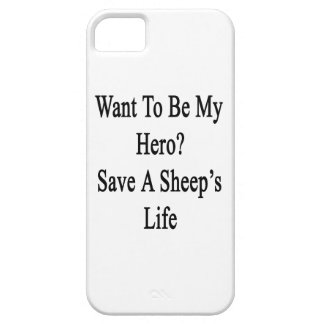 Quiera ser mi reserva del héroe la vida de una ove iPhone 5 Case-Mate cobertura