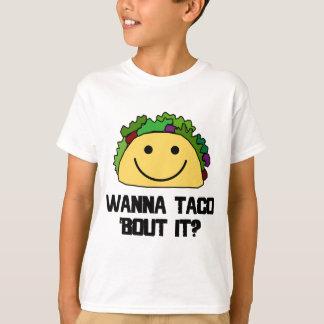 ¿Quiéralo al combate del Taco? Playera