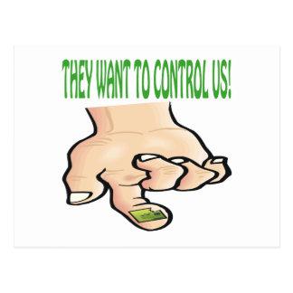 Quieren controlarnos postal