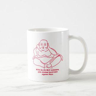Quieres cambiar el mundo taza de café