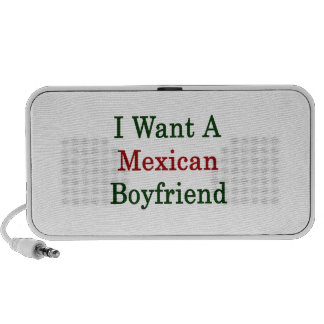 Quiero a un novio mexicano mini altavoces