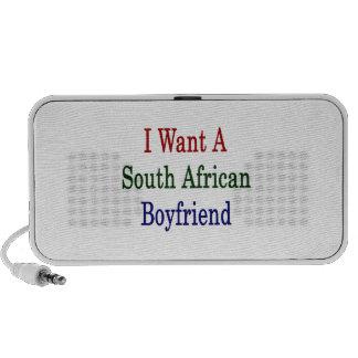 Quiero a un novio surafricano mini altavoz