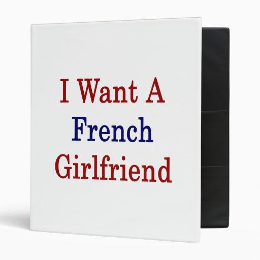 Quiero a una novia francesa