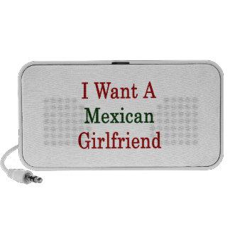 Quiero a una novia mexicana portátil altavoz