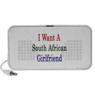 Quiero a una novia surafricana portátil altavoz