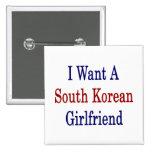 Quiero a una novia surcoreana pins