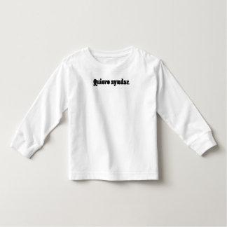 Quiero Ayudar. T-shirt