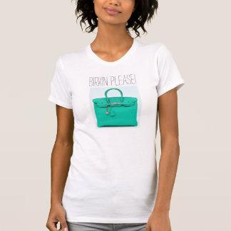 Quiero Birkin junto con te por favor Camisetas