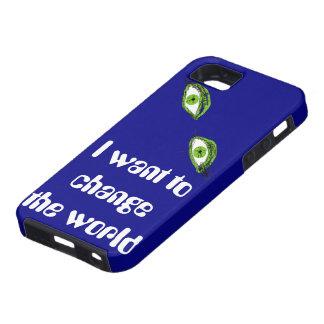 Quiero cambiar el mundo funda para iPhone SE/5/5s