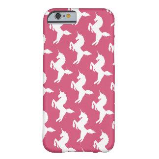 quiero creer en unicornios funda para iPhone 6 barely there