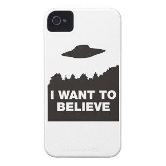 Quiero creer iPhone 4 protectores