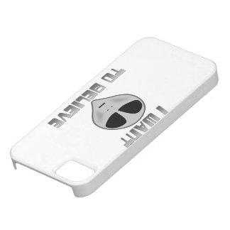 Quiero creer iPhone 5 Case-Mate cárcasa