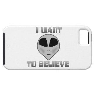 Quiero creer iPhone 5 Case-Mate funda