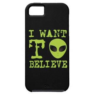 Quiero creer iPhone 5 cárcasas
