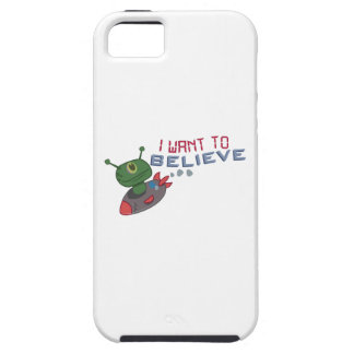 Quiero creer iPhone 5 Case-Mate carcasa