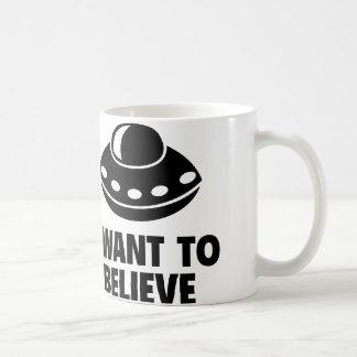 Quiero creer taza