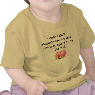 Quiero hablar a Yia Yia - corazón retro Camiseta